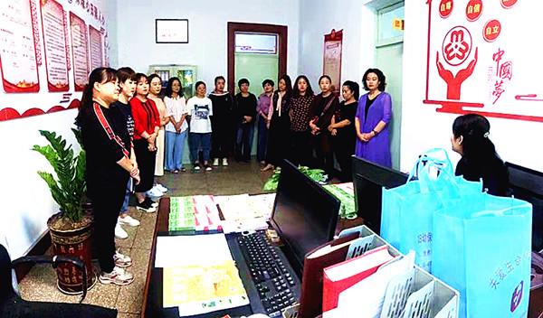 乡宁县自然资源局妇委会为女性普及健康知识