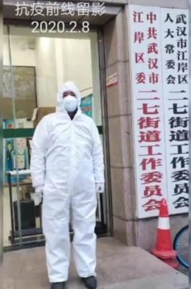 退伍老兵王元太:疫情一线的赤诚坚守