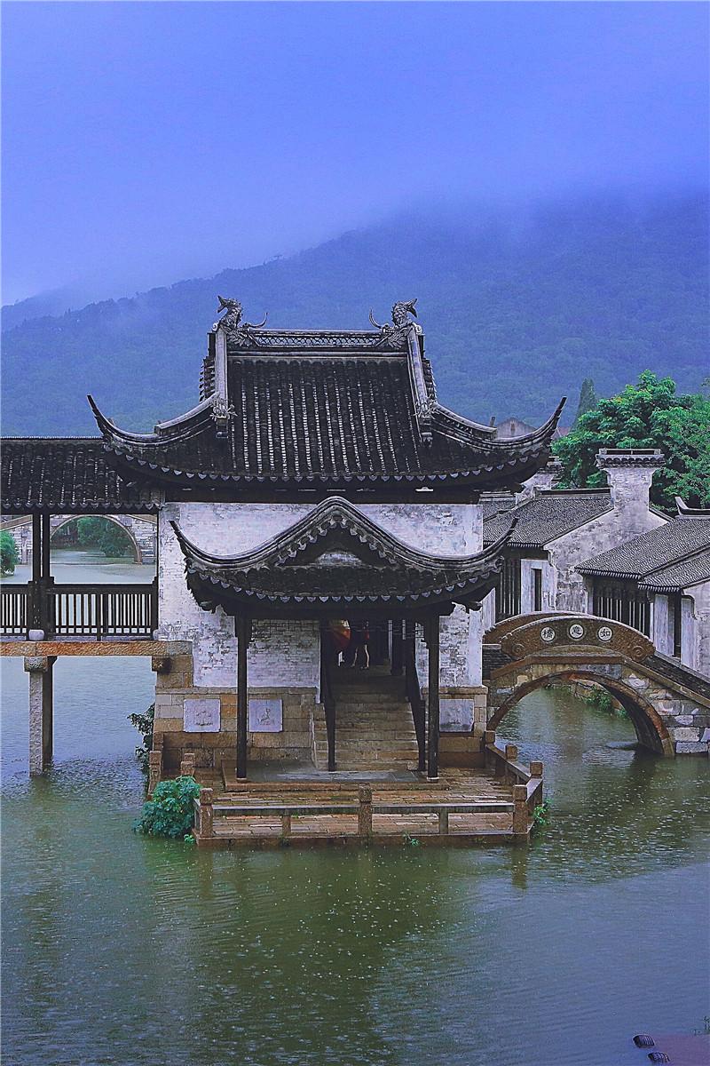梅雨润江南 带你到无锡惠山古镇赏一番