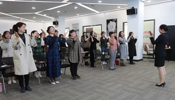 乡宁生态文化旅游示范区举办礼仪、茶艺技能培训班